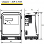 Chargeur 48V 17.5kW 300A LifeTech