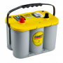 Batterie camping car Optima jaune YTS4.2