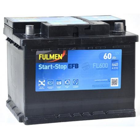 Batterie démarrage 'Start&Stop' Fulmen FL600 S&S