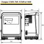 Chargeur 72V 10.5kW 120A LifeTech