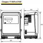 Chargeur 72V 17.5kW 200A LifeTech