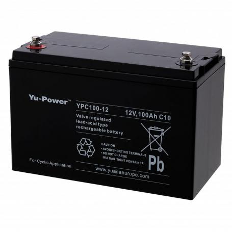 Batterie fauteuil roulent Yuasa YPC100-12