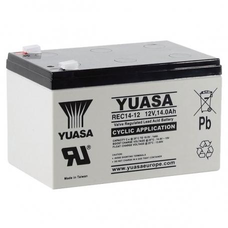 Batterie véhicules électriques Yuasa REC14-12