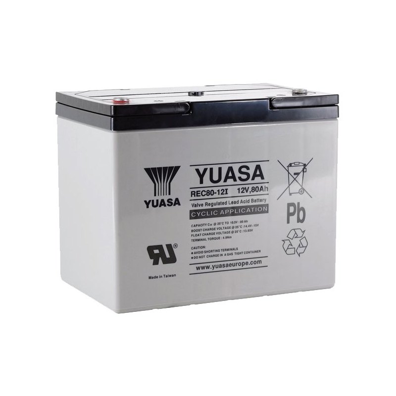 Yuasa REC80-12 / 12V 75.7Ah