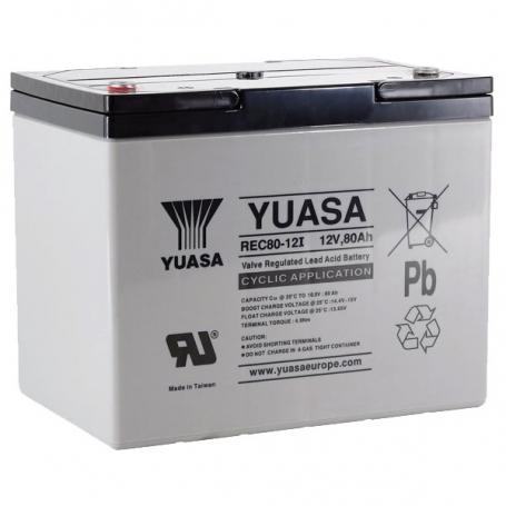 Batterie véhicules électriques Yuasa REC80-12