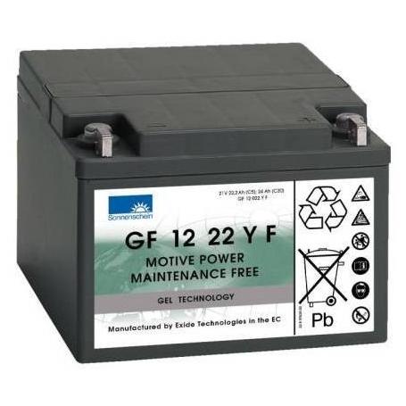 Batterie traction fauteuils roulants Sonnenschein GF12022YF/ 12V 24Ah