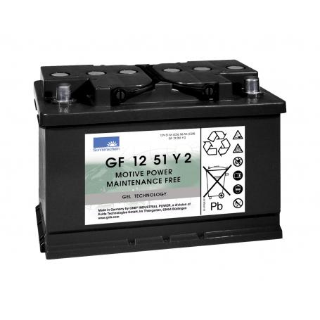 Batterie traction fauteuils roulants Sonnenschein GF12051Y / 12V 56Ah