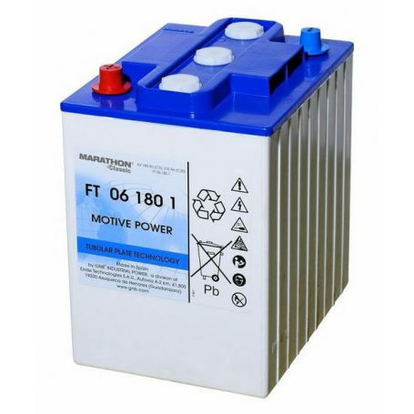 Batterie traction autolaveuse Sonnenschein FT061801 / 6V 210Ah