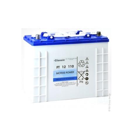 Batterie traction autolaveuse Sonnenschein FT12110 / 12V 132Ah