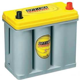 Batterie engins manutention Optima jaune YTR2.7