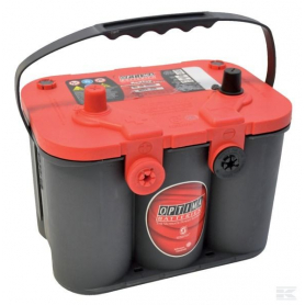 Batterie démarrage Optima rouge RTU4.2