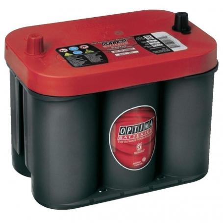 Batterie démarrage Optima rouge RTC4.2