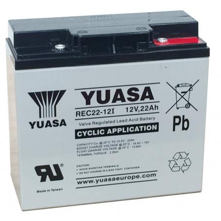 Batterie véhicules électriques Yuasa REC22-12