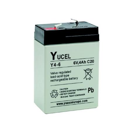 Batterie plomb AGM Yuasa Y4-6