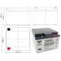 Batterie véhicules électriques Yuasa REC26-12