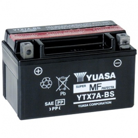 Batterie moto Yuasa YTX7ABS