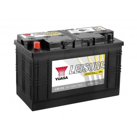 Décharge lente Yuasa L35-115 / 12V 115Ah