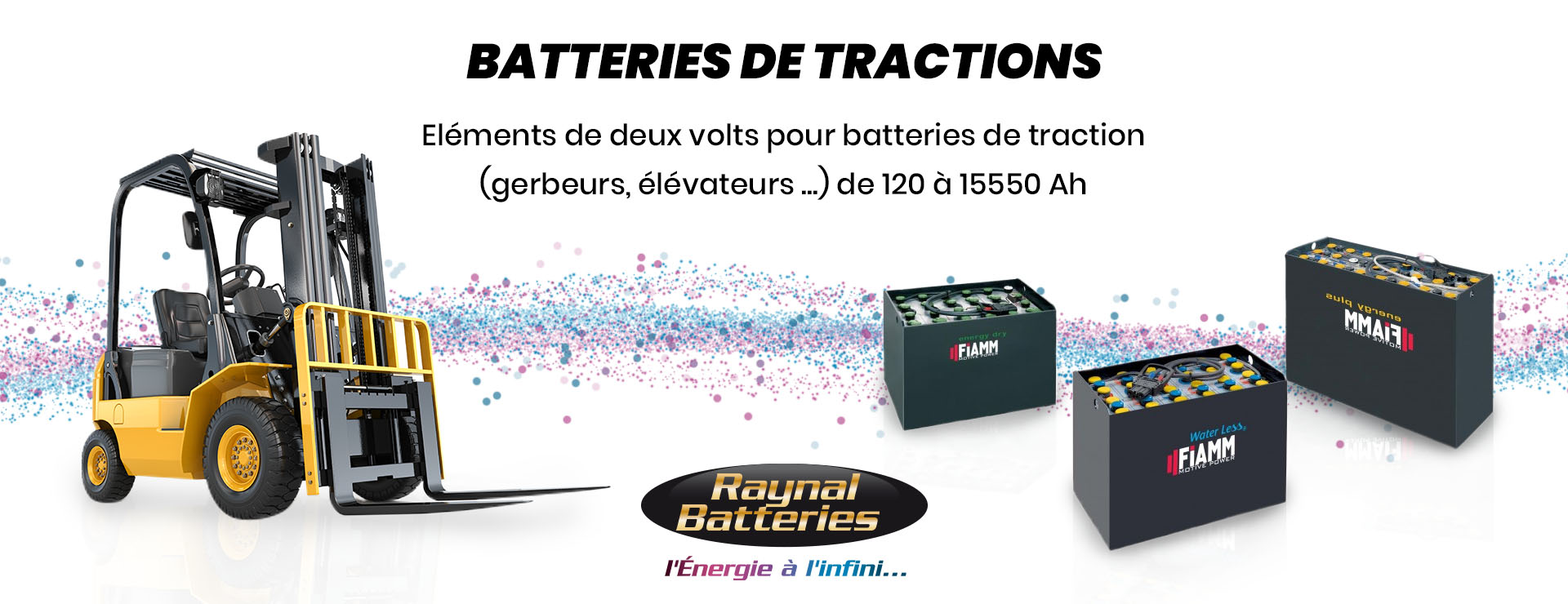 Batteries tractions