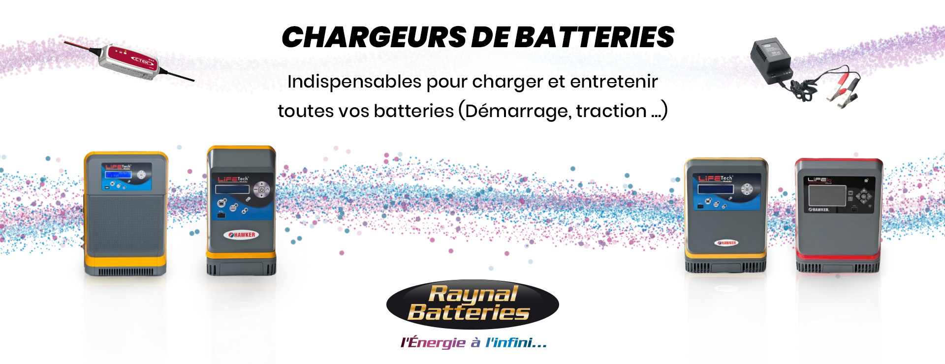 Batteries chargeurs