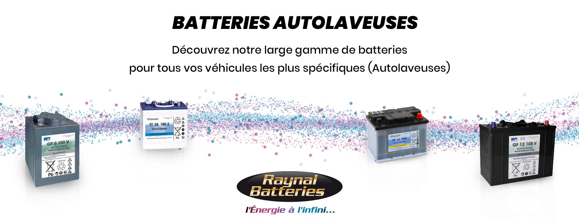 Batteries autolaveuses